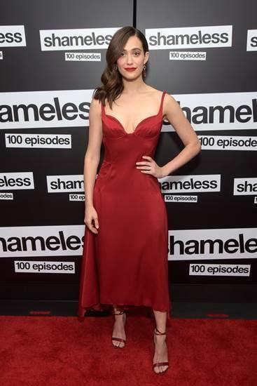 Emmy Rossum wears 'Narcissus'