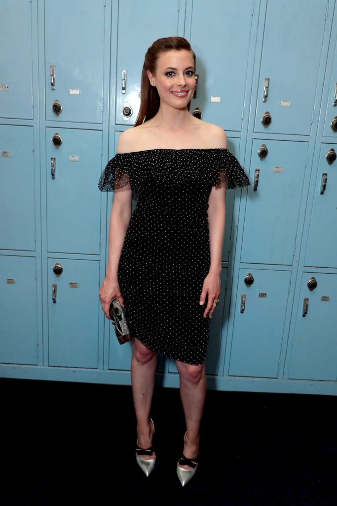 Gillian Jacobs wears 'Lily'
