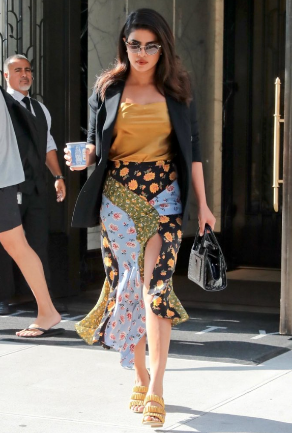 Priyanka Chopra wears 'Delphinium'