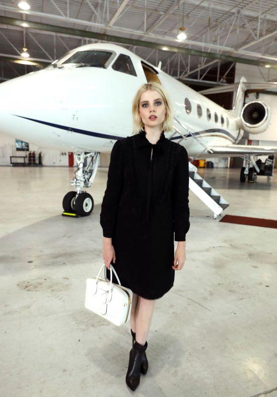 Lucy Boynton wears 'Maud'