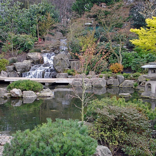 Holland Park's Kyoto Garden. Source: Flickr