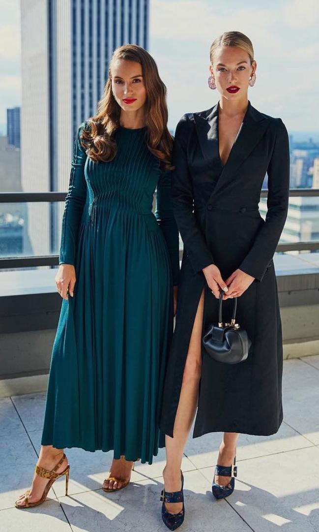 Chloe Gosselin and Hannah Ferguson