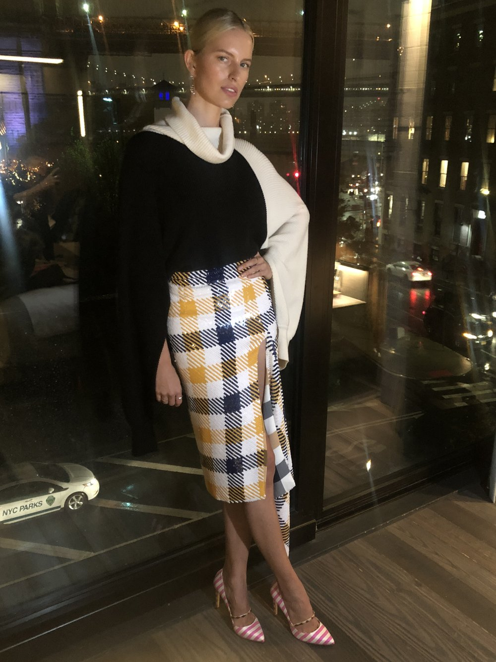 Karolina Kurkova wears August