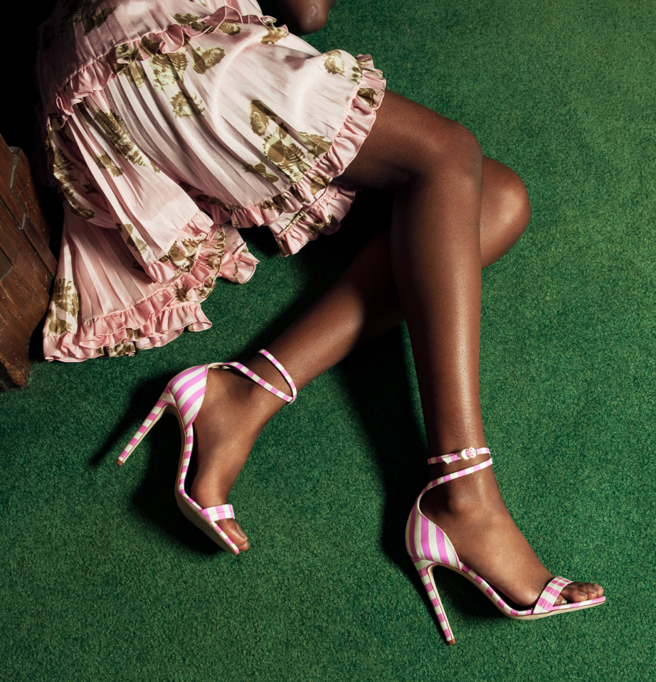 The Versatile Superstar - A celebrity favorite, now in a silky-satin stripe and rich color-blocking