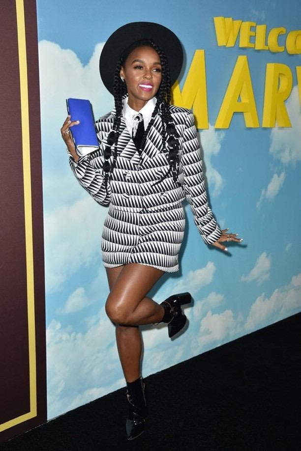 Janelle Monae wears Waris