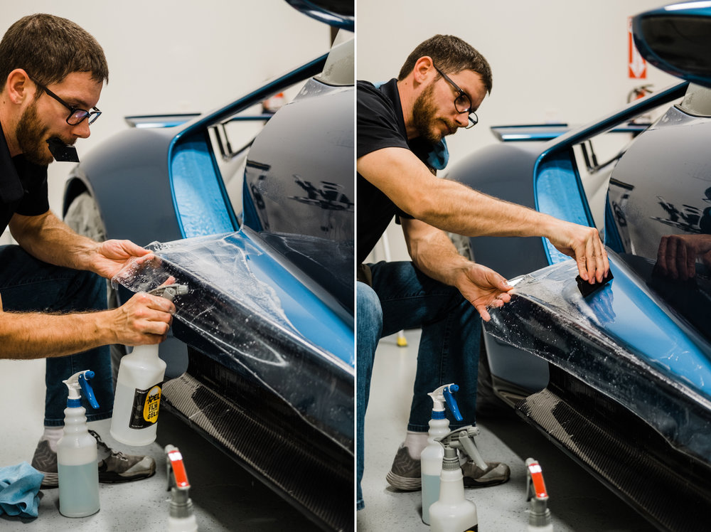 Ford GT - XPEL Paint Protection Film - New Ford GT - Clear Bra - Wichita Clear Bra