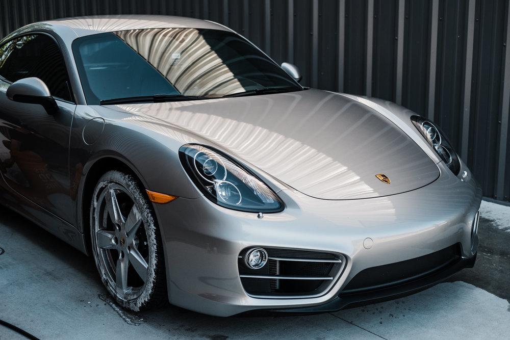 Porsche Cayman  - Ceramic Pro - Ceramic Coating - Paint Correction - Griot's Garage - Wichita Clear Bra-101.jpg