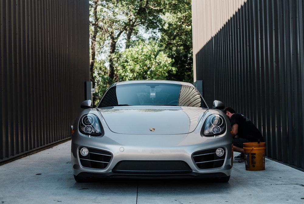 Porsche Cayman  - Ceramic Pro - Ceramic Coating - Paint Correction - Griot's Garage - Wichita Clear Bra-100.jpg