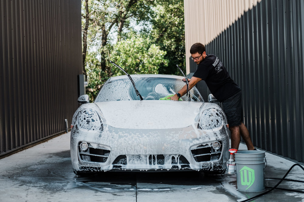 Porsche Cayman  - Ceramic Pro - Ceramic Coating - Paint Correction - Griot's Garage - Wichita Clear Bra-110.jpg