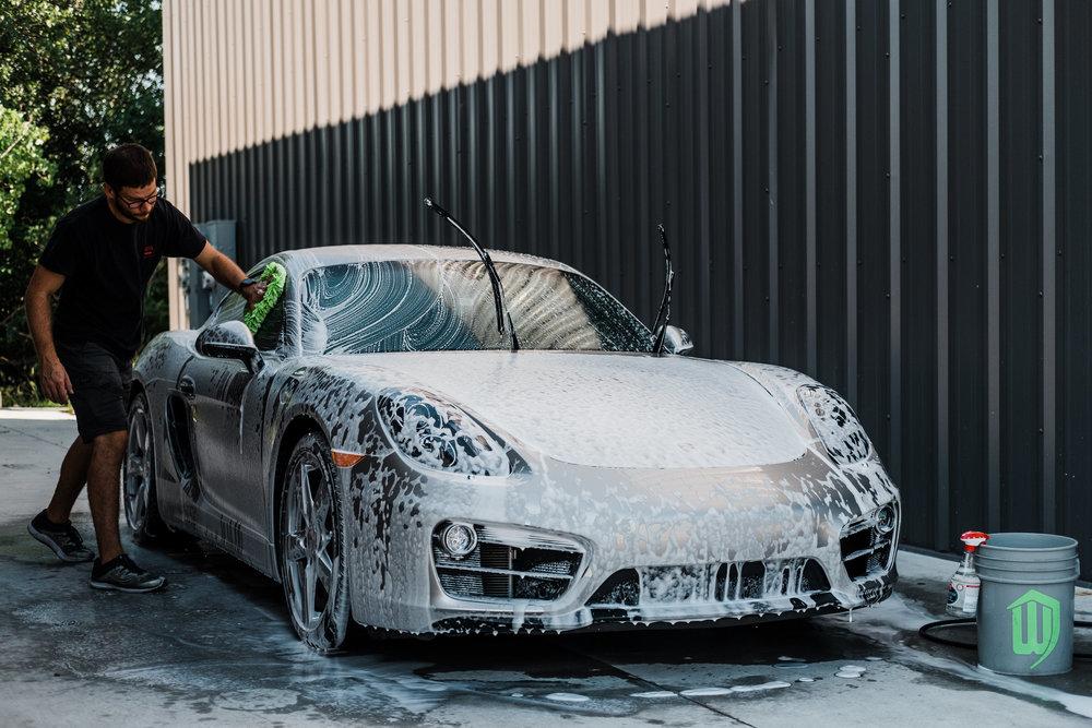 Porsche Cayman  - Ceramic Pro - Ceramic Coating - Paint Correction - Griot's Garage - Wichita Clear Bra-111.jpg