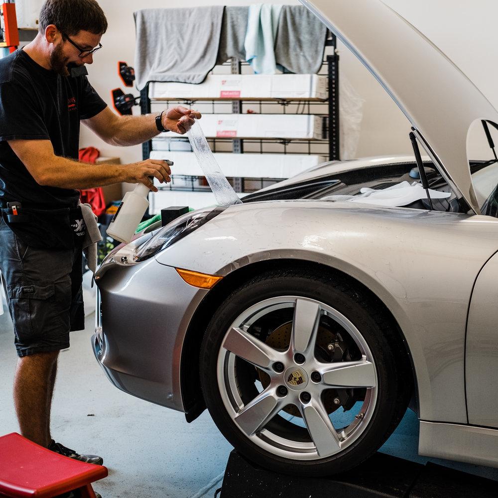 Porsche Cayman  - Ceramic Pro - Ceramic Coating - Paint Correction - Griot's Garage - Wichita Clear Bra-128.jpg