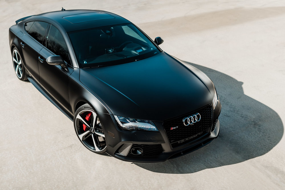 Full XPEL Stealth Wrap + Ceramic Pro Coating - Audi RS7