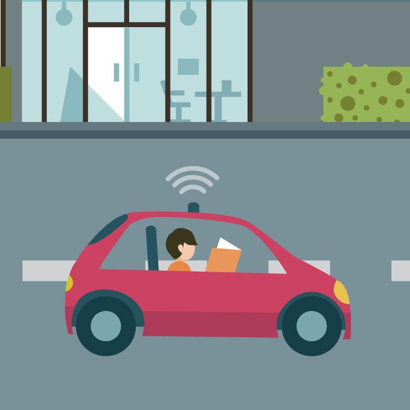 PROPOSITION #2 - Encourager les expérimentations à grande échelle de véhicules autonomes, à la fois navettes et voitures, et de nouveaux modes en conditions réelles et utiliser l'échéance des Jeux Olympiques de 2024 comme une vitrine mondiale