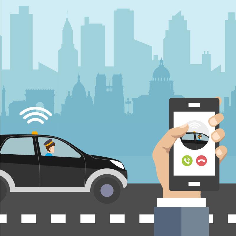 La mobilité à la demande - Répondre aux attentes de praticité et d'immédiateté des utilisateurs, maximiser l'efficacité économique des modes et accélérer la transition de la propriété à l'usage