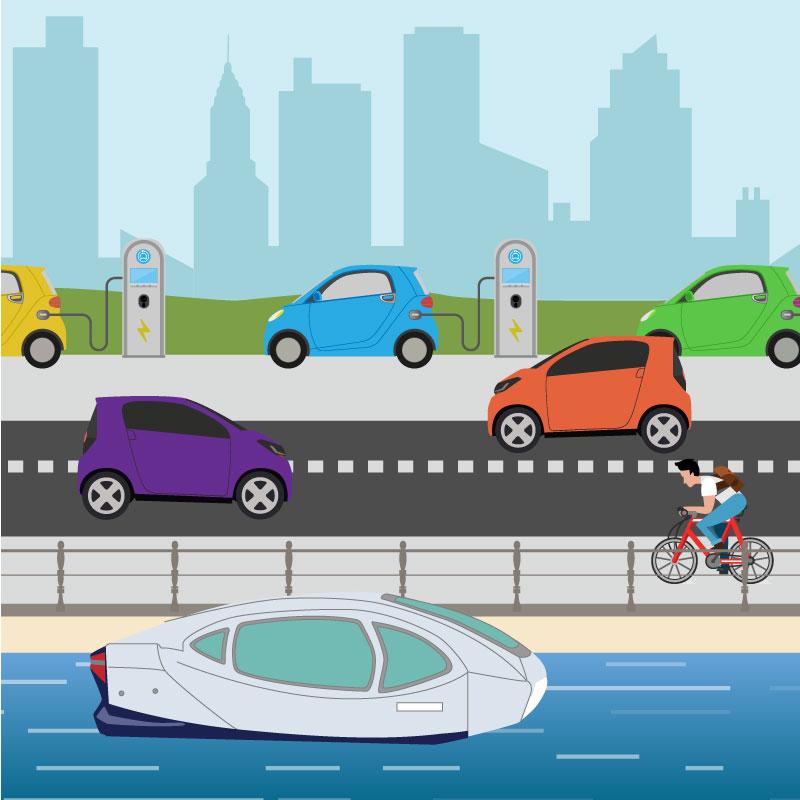 La mobilité zéro-émission - Limiter les émissions de gaz à effet de serre pour répondre à l'urgence climatique et limiter les émissions de particules fines et gaz nocif pour répondre aux enjeux de santé publique
