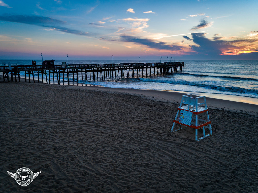 Sandbridge Fishing Pier at Dawn