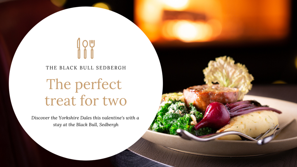 A treat made for two in the Yorkshire Dales, this Valentine'sA treat made for two in the Yorkshire Dales, this Valentine's