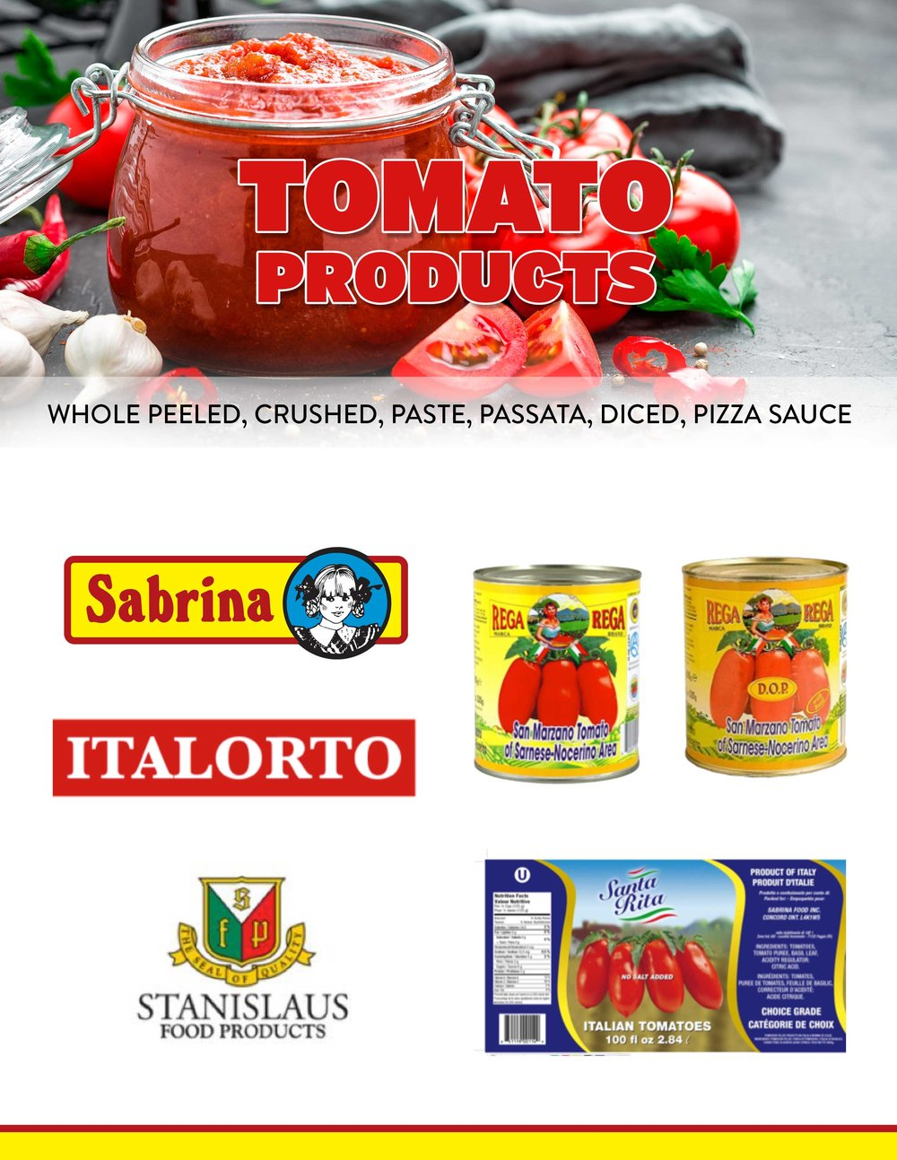 Our Products — Sabrina Wholesale Foods - Toronto Supplier of food