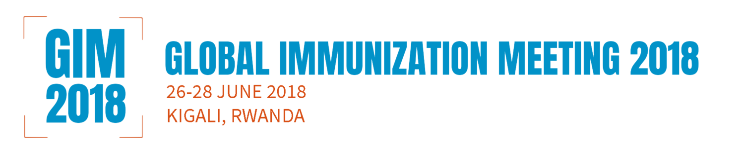 Global Immunization Meeting 26-28 June, 2018