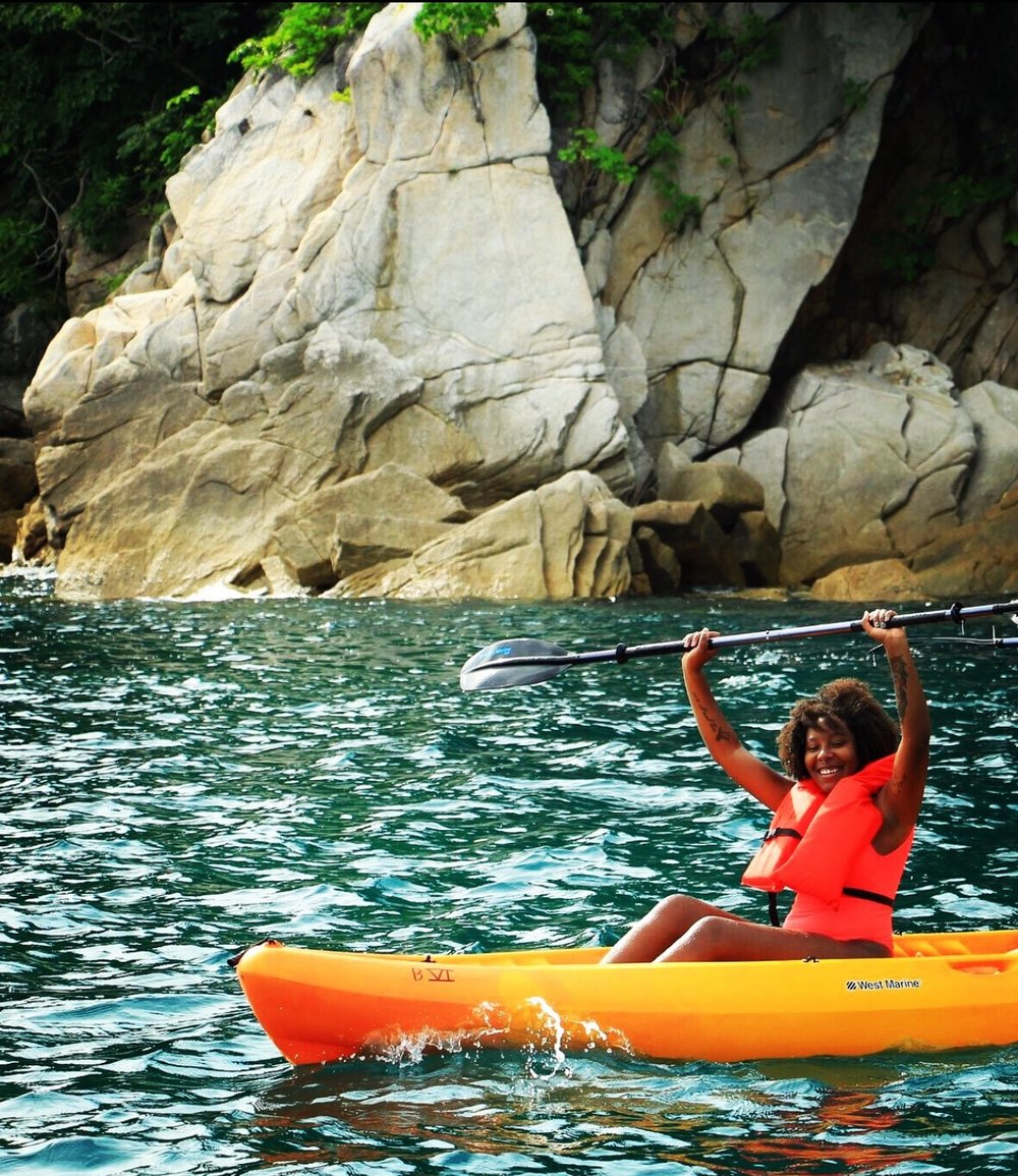 Kayaking with Vallarta Adventures