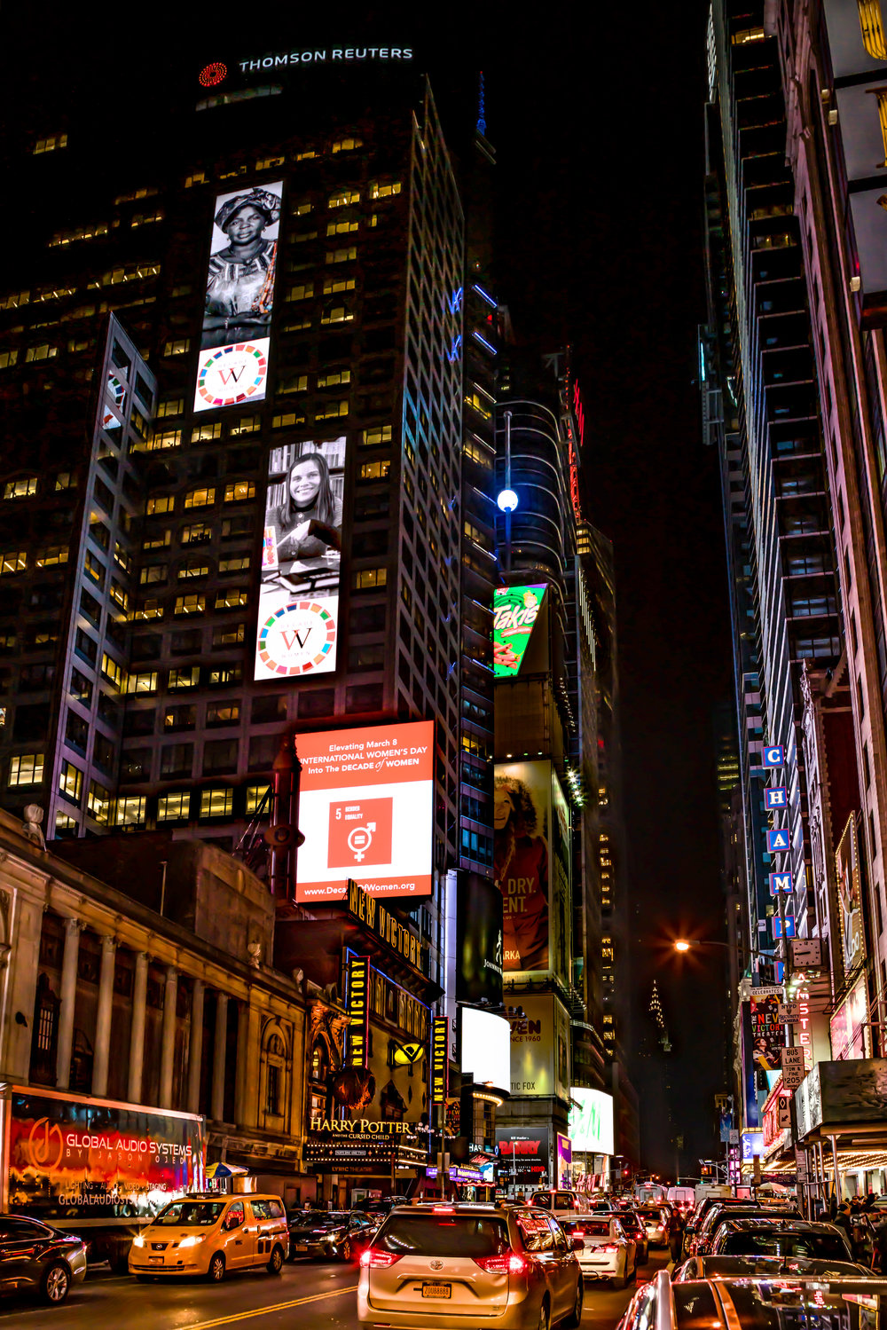 UN Time Square Billboards Waterfall Nigh.jpg