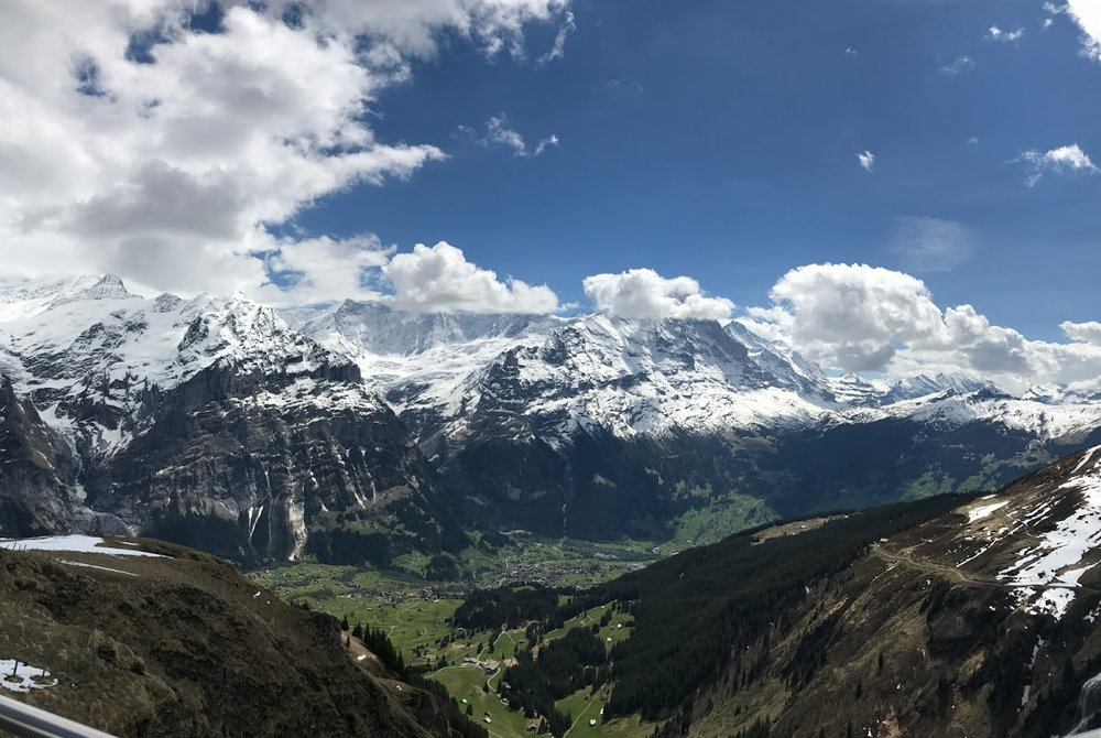 Picture taken in 2017 at First Mountain in Grindelwald, Switzerland