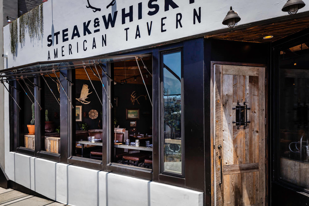 Open Windows at Steak & Whisky
