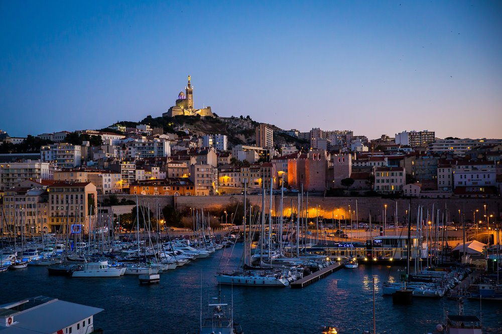 Day 5: Explore Marseille - Electric bike tour of the city. Boat trip to Chateau d'If.