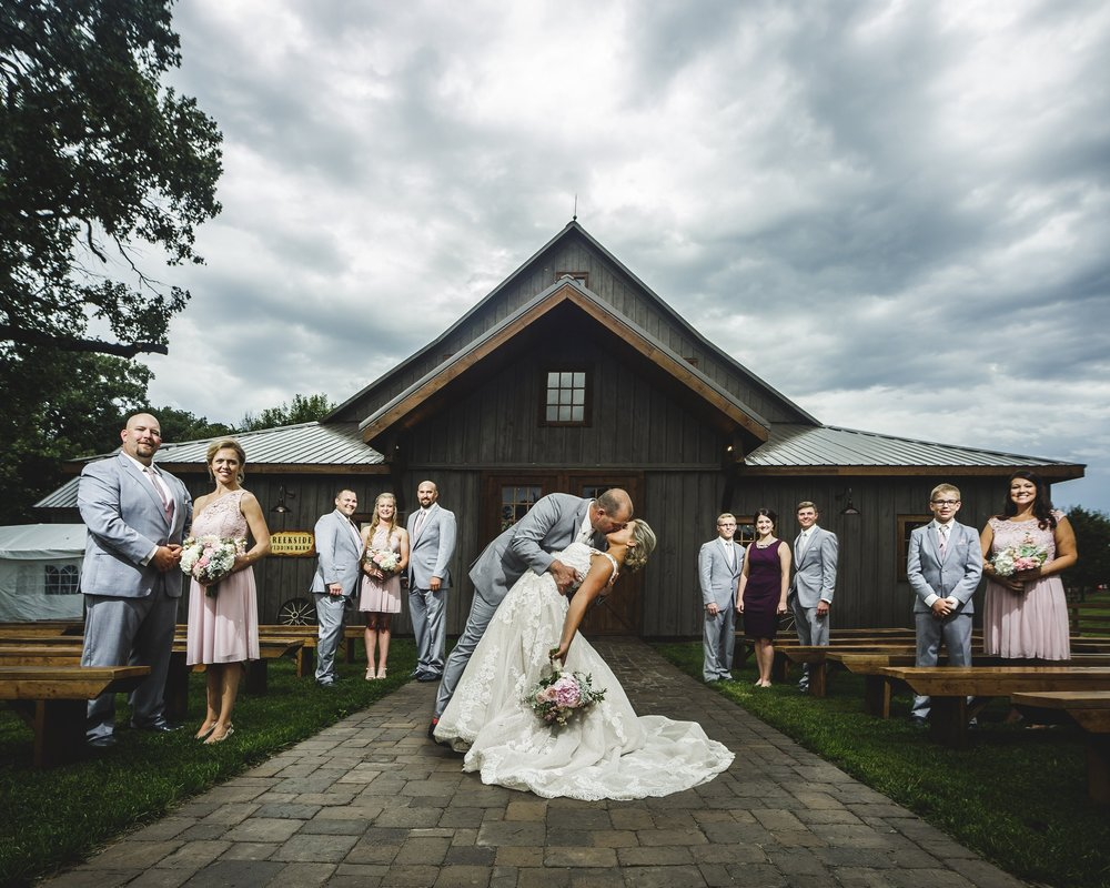Creekside Weddings & Events  - Roca, NE          Jordan Schaffer