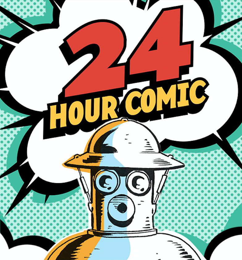 Some of our participants were featured in the 2017 documentary film, 24 Hour Comic (24hourcomicmovie.com)