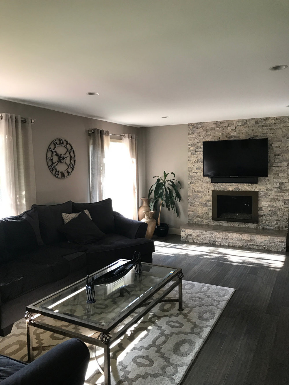 Living Room-Whole House Remodel