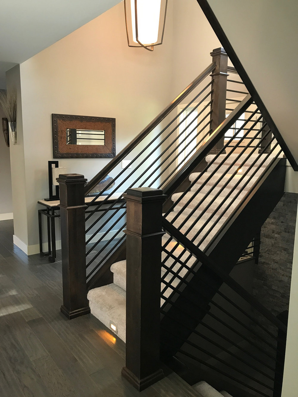 Contemporary Handrail-Whole House Remodel
