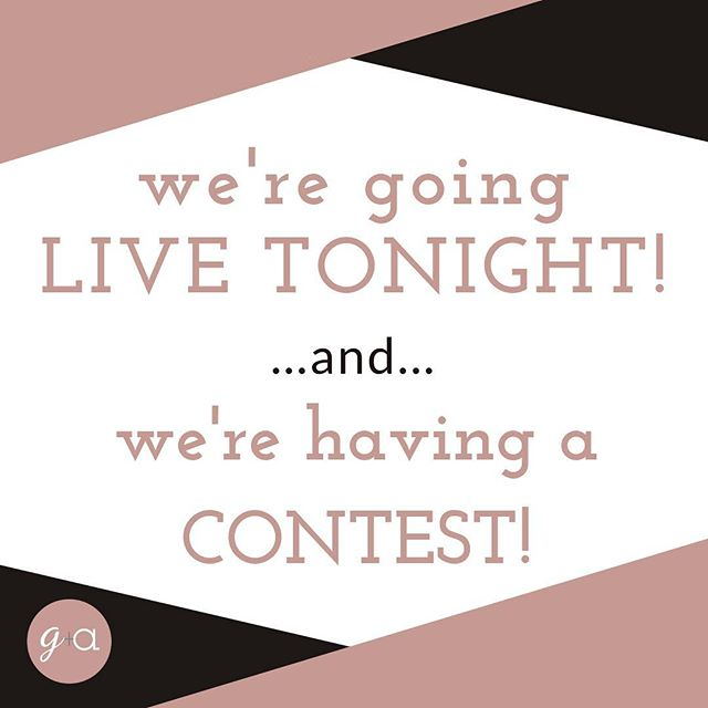 Tune in TONIGHT for a LIVE preview of our new Fall collection!  In celebration of our Fall preview we are having a contest. We'll pick two winners to receive a $25 credit to Grace + Abel!  You'll get one entry for doing each of the following: 1. Like/follow our page 2. Tell us in the comments below what you would like to see us carry 3. Share this post  Deadline is TODAY at 5pm EST.  See you TONIGHT!