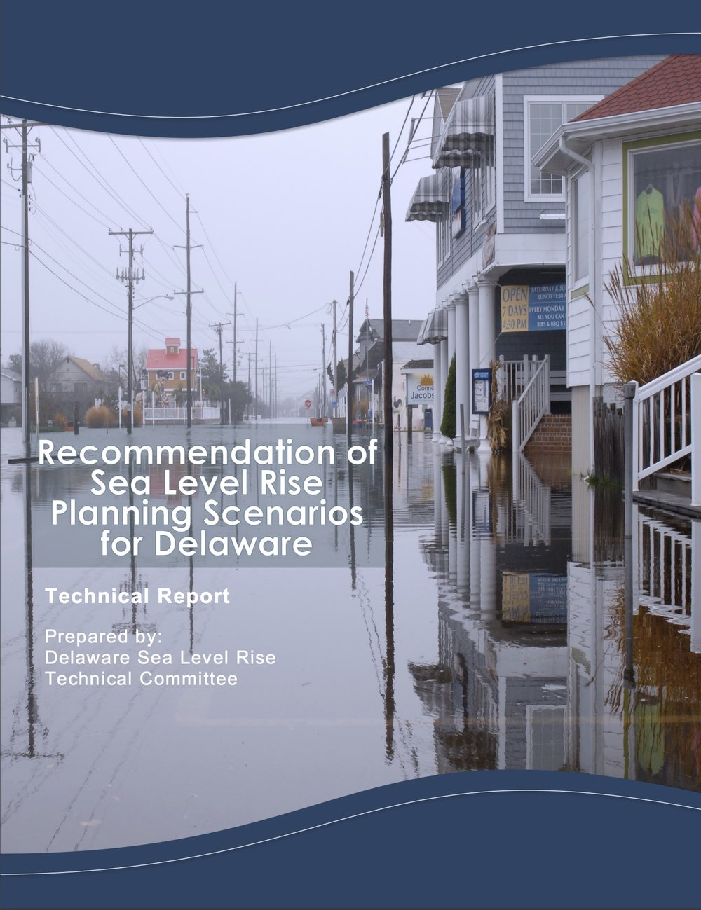 Recommendation of Sea Level Rise Planning Scenarios for Delaware