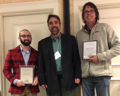 Ed Lewandowski received the inaugural Mid-Atlantic Sea Grant Early Career Achievement Award.
