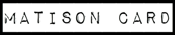 logo matison card