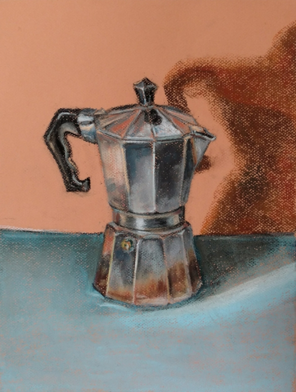 Pastel Drawing by Phil Tesinsky, 2018