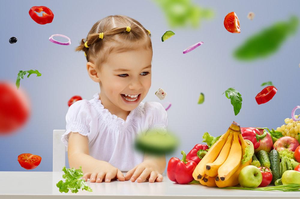 Niños creciendo sanos -