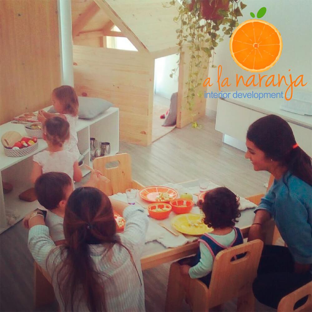 Centro de desarrollo infantil para el cuidado de sus niños