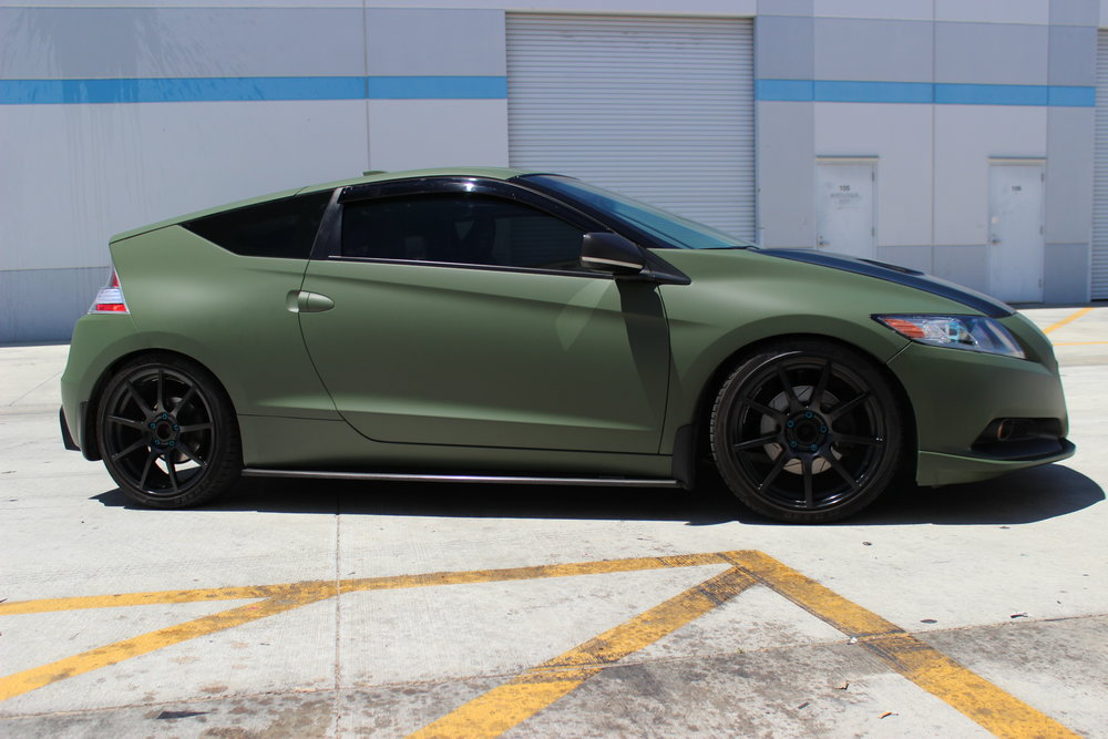 Matte Green Hatchback.JPG