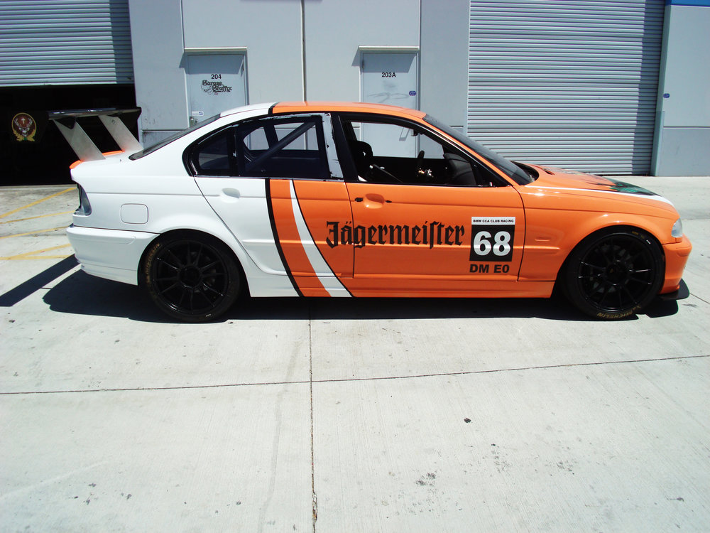 Jaigermeister Drift Car.JPG
