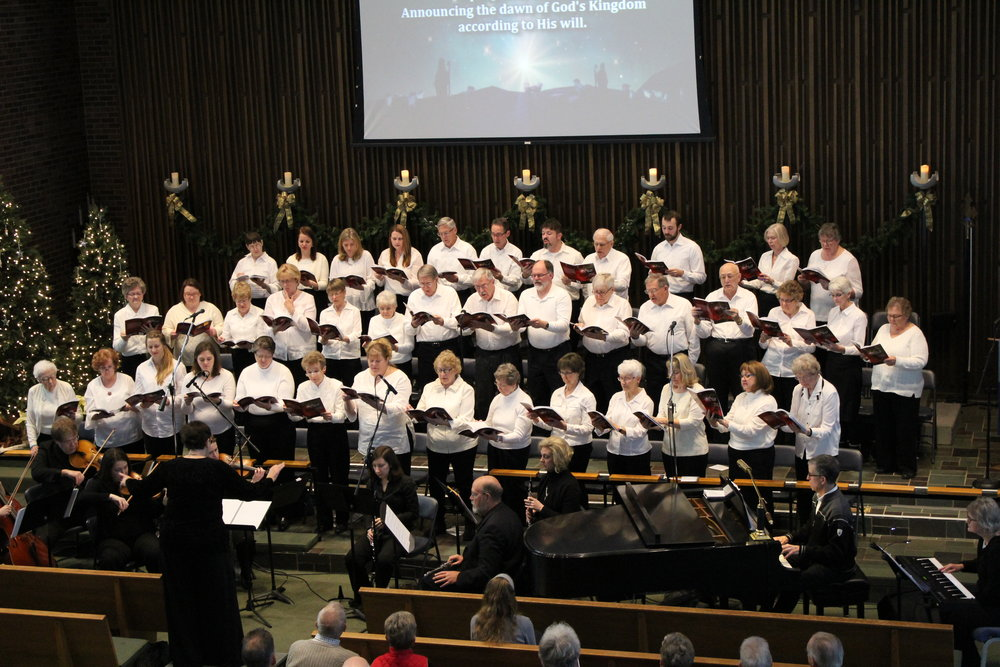 Sanctuary Singers - Typically rehearses Wednesday nights and performs throughout the year including a Christmas Cantata.