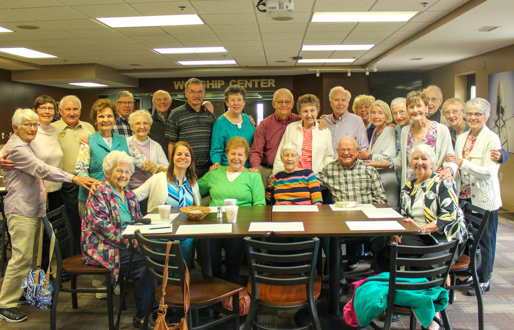 Forever Forty - A group of the young at heart meets Thursday mornings, once a month.