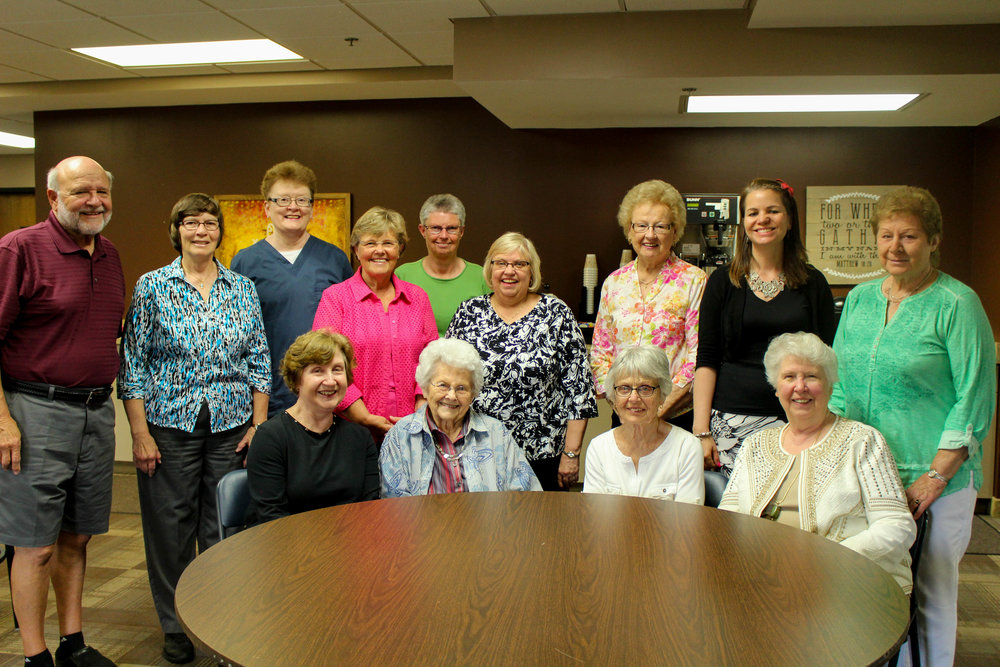 Care Team - If caring for the aging is your passion, this group is full of heart.