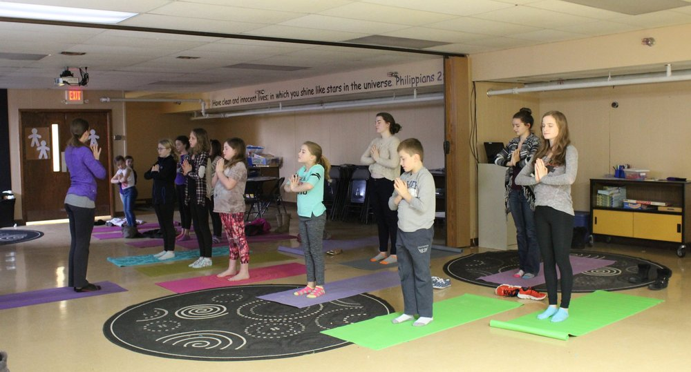 Sunday School Yoga Image