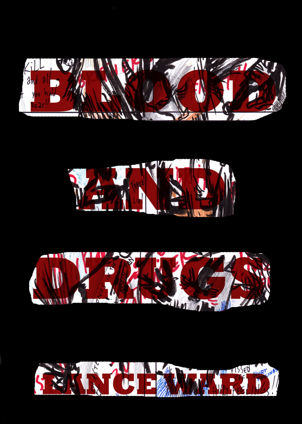NOW ON SALE:blood and drugs -