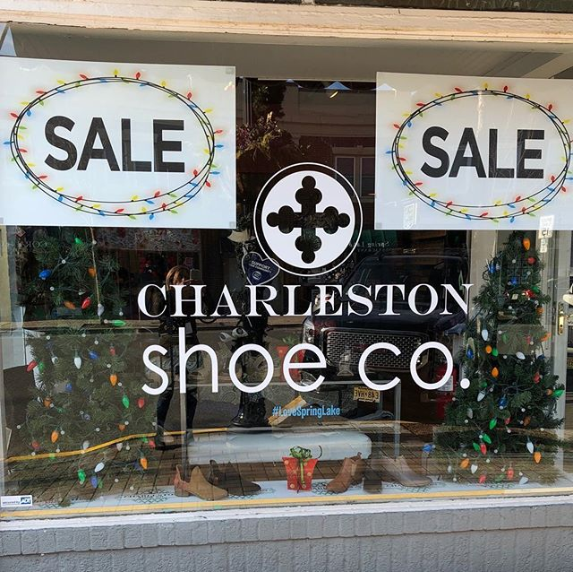 Dec 31 closing at 2pm to #celebrate and #dance the night away in @charlestonshoeco #shoes