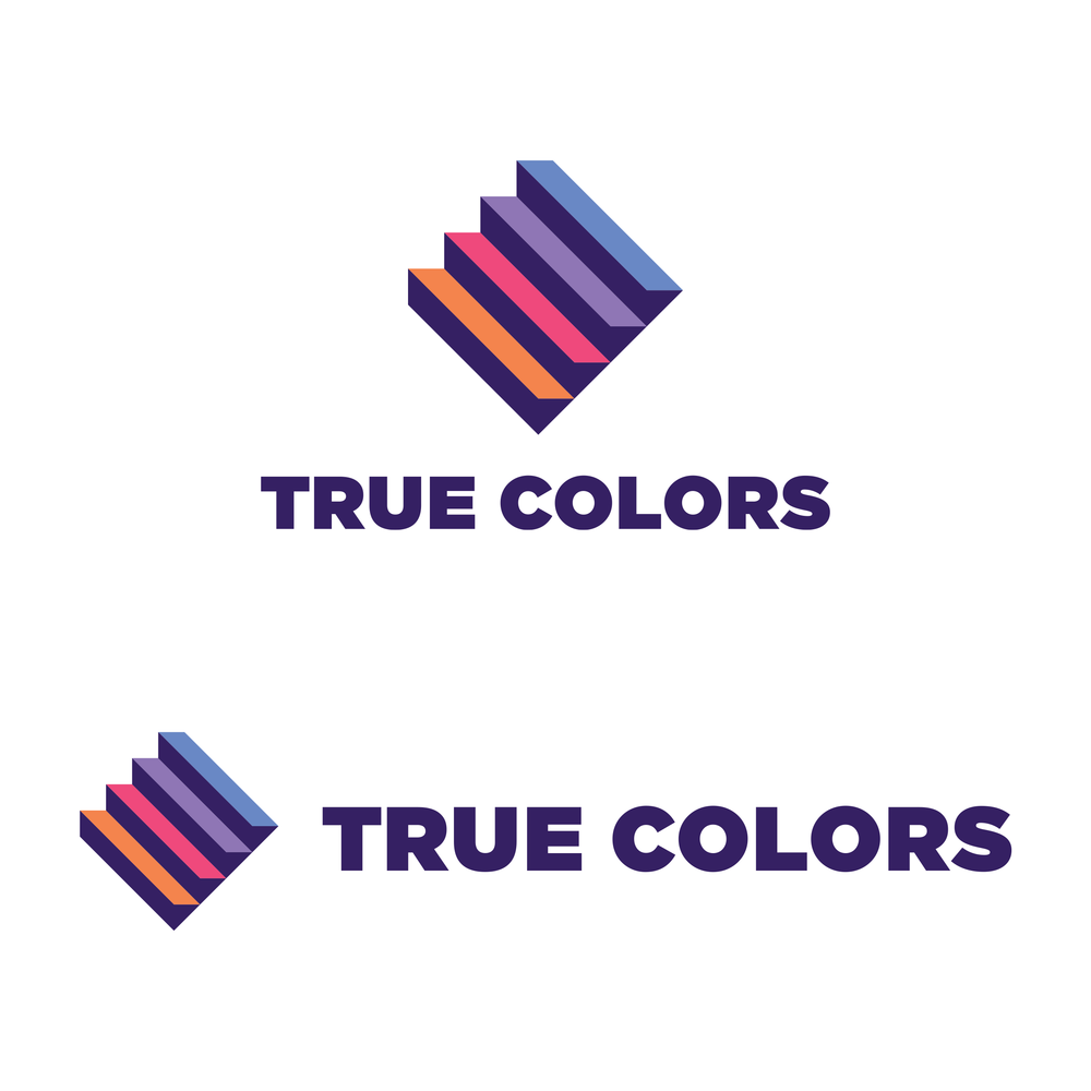 Logo variations - Stacked and horizontal versions of the logo allow for versatility in different communications.