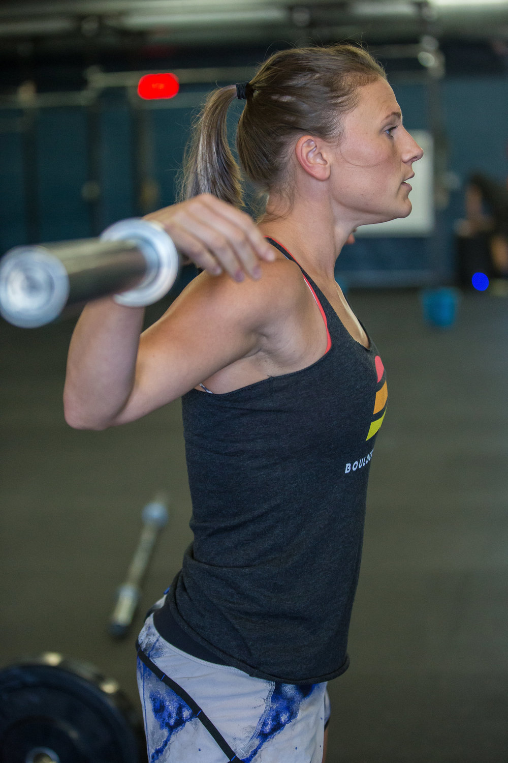 Emily Haury, Coach - CrossFit Level 1CrossFit Level 2USAW Level 1 Sports Performance Coach