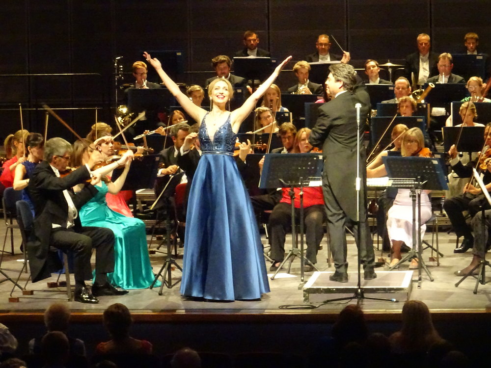 Last Night of the Derngate Proms, 15 July 2018 - Katerina performs the